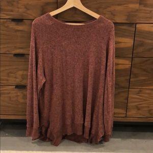 Anthropologie Marled Sweater
